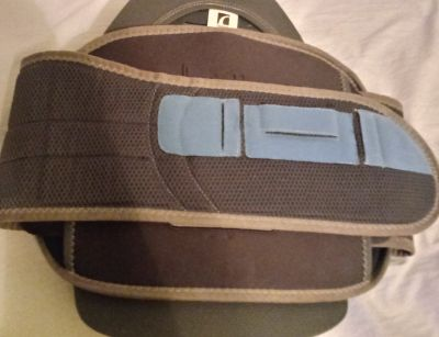 Like new Back Brace never worn just to try on as Large