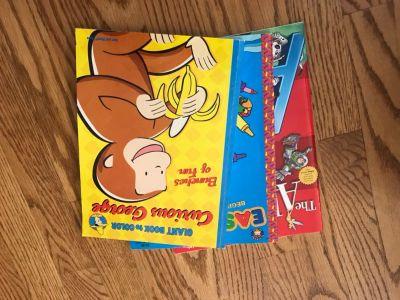 3 Coloring Books