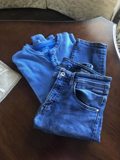 Men s H&M Jeans and Gap Henley