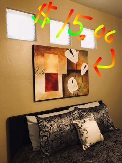 Large modern picture on canvas.