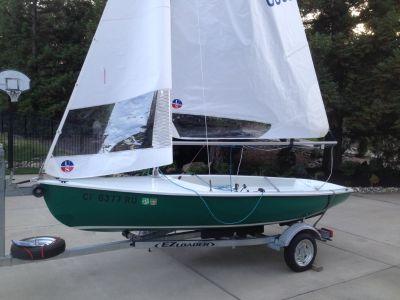 Lido 14 Sailboat #6359 with EZ Loader Trailer