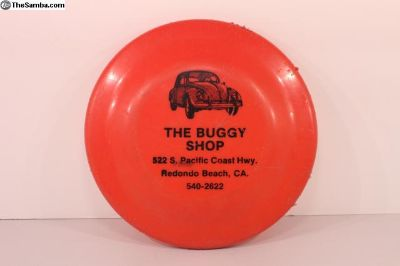 The Buggy Shop Frisbee