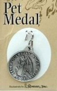 Guardian Angel and St. Francis Pet Tags