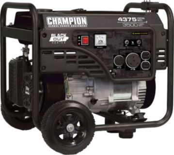Champion Blackout Generator
