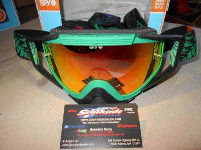 Buy Spy Omen MX Snowmobile Goggle Road2Rec SMKw/REDSPC+CLRAFP 323129489856 motorcycle in North Adams, Massachusetts, United States, for US $89.95