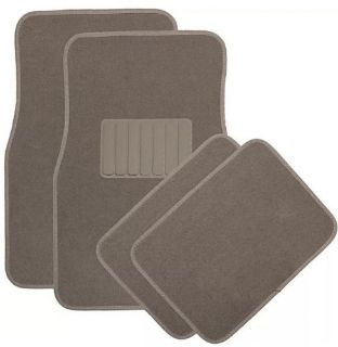 Find SUV Auto Floor Mat for Buick Enclave 4pc Heavy Duty Semi Custom Fit Beige Carpet motorcycle in Los Angeles, California, United States