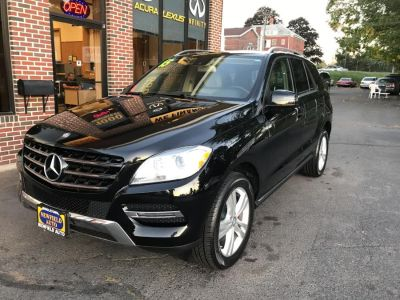 2015 Mercedes-Benz M-Class 4MATIC 4dr ML350 (Obsidian Black Metallic)