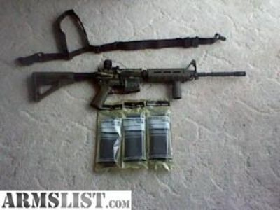For Sale/Trade: AR-15 (Tiger Stripe)