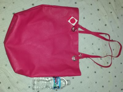 New w tags! Pink large bag purse