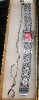 Gift Set Necklace & Watch
