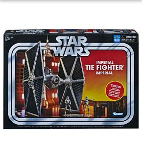 STAR WARS VINTAGE COLLECTION IMPERIAL TIE FIGHTER WITH PILOT
