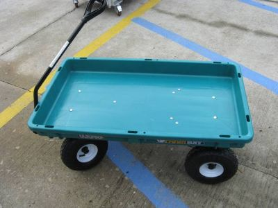 New Poly Garden Wagon 38in.L x 20in.W 300-Lb. Capacity