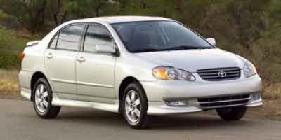 2004 Toyota Corolla CE (Super White)