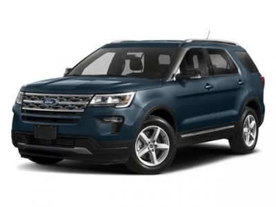 2018 Ford Explorer XLT (White)
