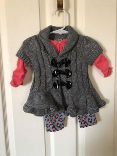 Little Lass 12 Month Outfit