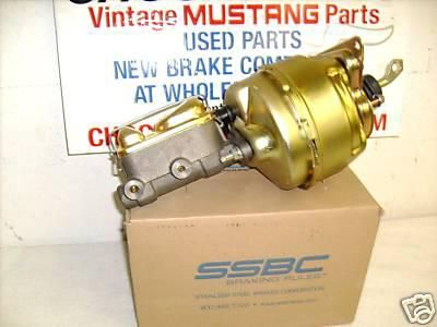 Buy 68 69 MUSTANG COUGAR DISC BRAKE BOOSTER BENDIX SSBC NEW motorcycle in Murrayville, Illinois, US, for US $285.90