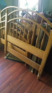 Ethan Allen twin size beds with box spring and mattress