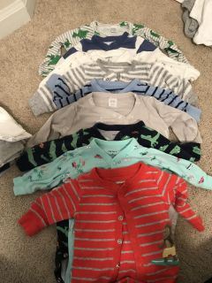 Large tub of baby boy clothes- over 100 pieces!