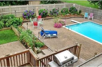 14 Judith Rd Peabody Four BR, This backyard is designed for