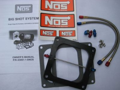 Purchase NOS/NITROUS/NX/ZEX/EDELBROCK/ BIGSHOT HOLLEY DOMINATOR PLATE KIT 175-400HP-NEW! motorcycle in North Attleboro, Massachusetts, United States, for US $126.49