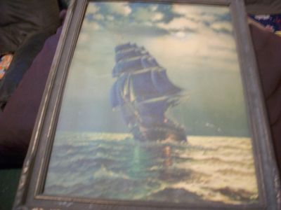 Old Ironsides Wall Painting
