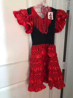 Flamenco Dress and accessories