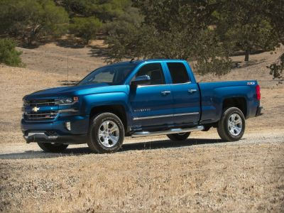 2016 Chevrolet Silverado 1500 Custom (Black)