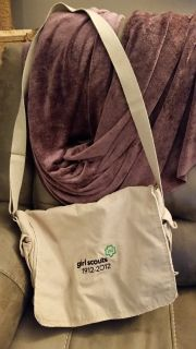 Girl Scout 100 year Anniversary Messenger Bag