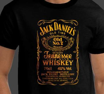 JACK DANIELS RARE - Old # 7 Brand Tennessee Whiskey T-shirt