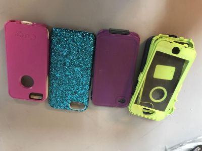 Otterbox, Lifeproof, Morphie and Assorted phone cases