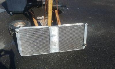 custom built aluminum radiator