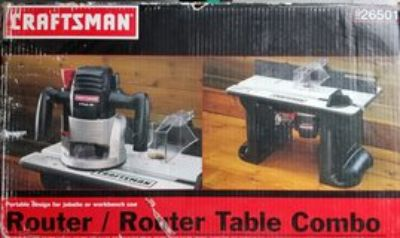Router & Table combo