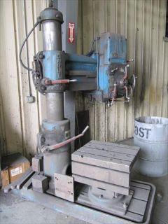 Carlton Machine Tool Co. Radial Drill Press