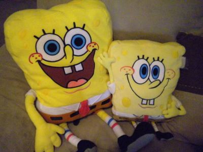 Spongebob stuffed animals