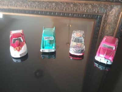 RACING CHAMPIONS 1/144 (TINY) DIE CAST CARS - SET OF 4...