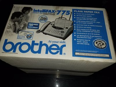 Fax Machine Intellifax-775