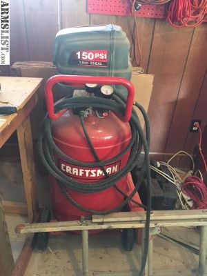 For Sale/Trade: 33 Gal Air compressor & tools