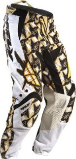 Sell Kinetic Pants, White/Gold, Size: 28, Size Modifier: Short 28 Short 364-23428S motorcycle in Loudon, Tennessee, US, for US $55.21