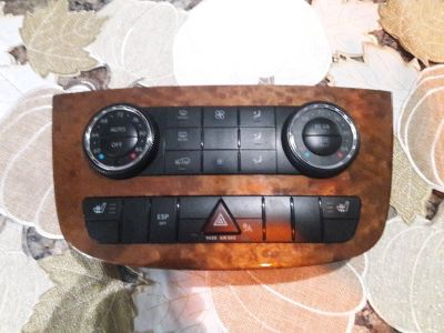 2008 mercedes r350 climate control panel
