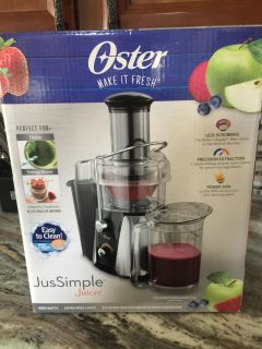 Oster juicer only used once excellent