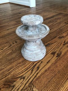 Candle holder! Heavy! $10