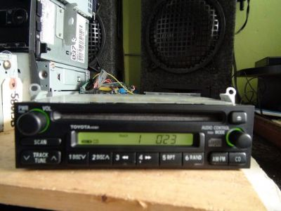 Sell Toyota 4 Runner Sienna Corolla 98-02 CD player 2-plug A51801 see Test VIDEO motorcycle in Philadelphia, Pennsylvania, United States, for US $79.99