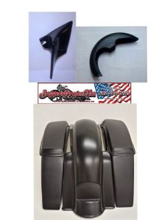 "Sell 2014-16 HARLEY DAVIDSON 6"" STRETCHED SADDLEBAGS & REAR FENDER KIT FLH motorcycle in Miami, Florida, United States, for US $1,275.00"