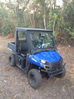 $6,600, 2010 Polaris Ranger EV