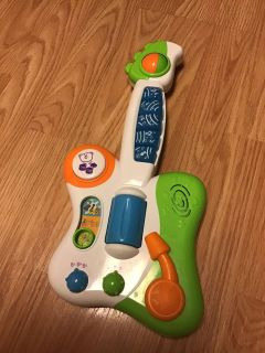 Toy baby guitar