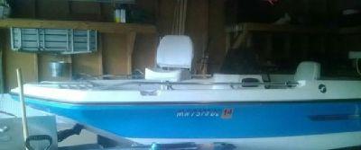 1975 restored silver line bass/ski boat