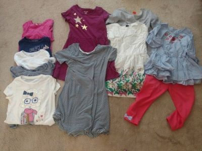 Girls size 10 Lot of clothes, shirts, dresses, pants and shorts