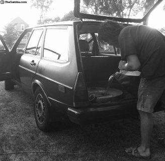 1980 Dasher Diesel complete minus engine