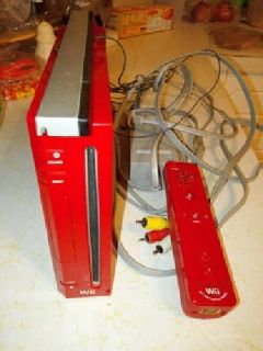 Red Nintendo Wii 25th Edition