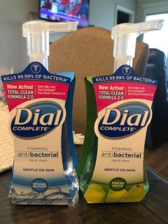 Dial complete foaming hand soap (spring water and fresh pair)